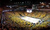 Oracle Arena in Oakland California