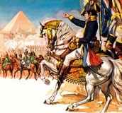 Napoleon invades Egypt 1798