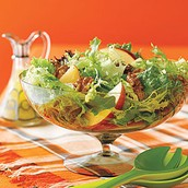Green Salad with Apples and Toasted Walnuts