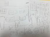 Mushirah's field sketch