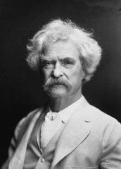 So what Mr. Twain?