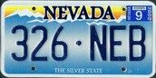 The State License Plate