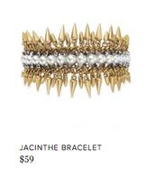 Jacinthe Bracelet, $59