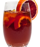 Blood orange tea