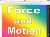 All about force and motion