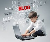 What Might a Lesson Using Blogger Look Like?