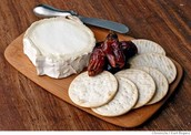 Goat Cheese with Crackers