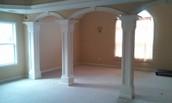 Spacious Loft with Columns