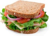 Sandwiches are tasty and easy to make