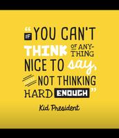Love that Kid President!