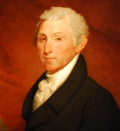 Old James Monroe looking center with the most swagger