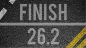 I'm better at running a full marathon
