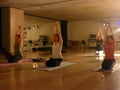 """Sat Kriya"" Increases and strengthens the nervous system for overall well-being and radiance."