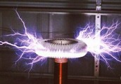 How does a real tesla coil work?