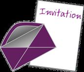 Invitaciones para Fiestas y Dia de San Valentín