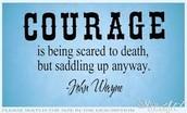 Value: Courage