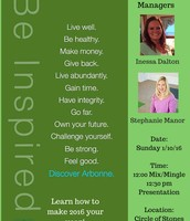 Discover Arbonne Sunday 1/10/16 12:00-1:00 pm