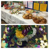 Thanks to our awesome Pillow PTA for a staff Mardi Gras breakfast!