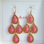 Seychelles Chandeliers - Pink $26 SOLD (Christina Guthrie)