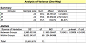 Calculations and Statistical Analysis