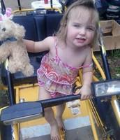 Dixie in the Go-Cart