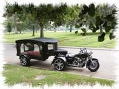 Motorcycle Hearse...