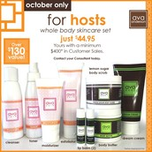 October Host Exclusive: