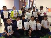 2nd Grade Book Report, Ms. Johnson's class!