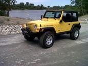 Sport TJ Jeep 2002