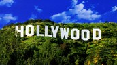 Hollywood iconic sign