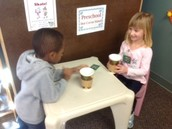 Sharing a Hot Chocolate with a Friend
