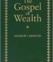 16. Gospel of wealth