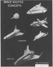 Past of a Space Shuttle