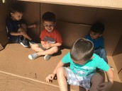 Playing inside an awesome box!