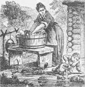 Women Washing Clothes