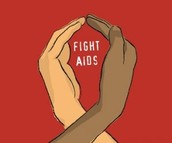 An inspirational picture. Fight AIDS!