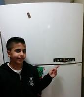 המקרר שלנו בבית