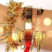 Try a bold arm party!