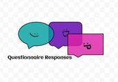 Questionnaire responses (: