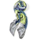 Union Square Scarf in Gray and Blue