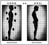 good health is the key to good posture