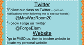 Follow room 20 on Twitter