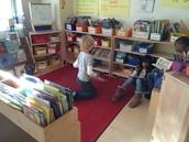 Corner of a classroom