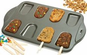 Cookie popsicle tray