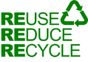 We can Reduce, Reuse, and Recycle