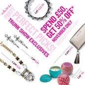 November Trunk Show Exclusive Offer
