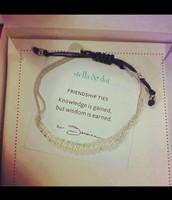 Wisdom (pearl) bracelet