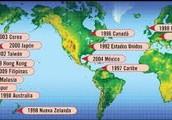 Países en expansión.