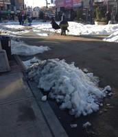 Snow in Queens