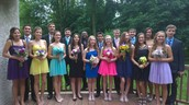 8th Grade formal with a lot of my friends